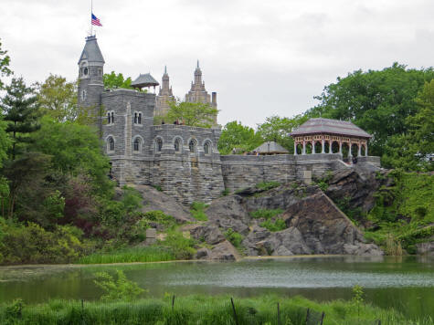 Castle in Central Park, New York