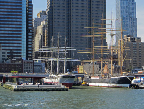 Seaport District of New York City